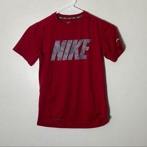 Kids Red Nike Dri Fit
